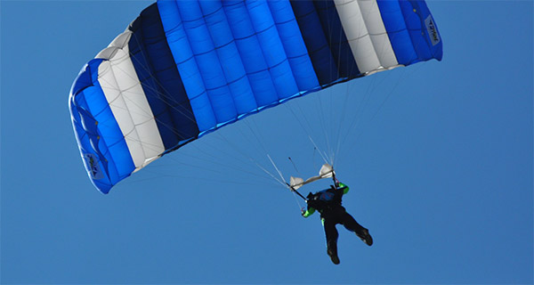 Win a free Skydive